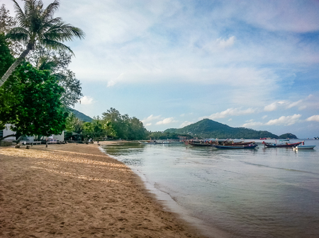 Koh Tao Thailand Beach Coast Scene. Very much one of the main tourist attractions and points of interest in the area.