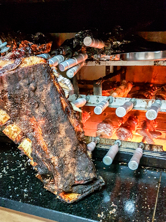 World Famous Brazilian Barbacue BBQ. Very much one of the main tourist attractions and points of interest in the area.