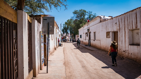 San Pedro de Atacama Chile South America. Very much one of the main tourist attractions and points of interest in the area.