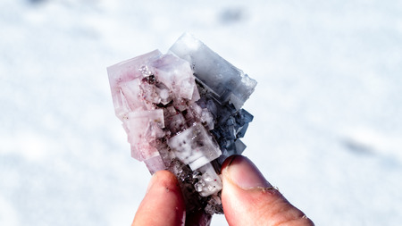 Bolivia Salt Flats Natural Crystal. Very much one of the main tourist attractions and points of interest in the area.