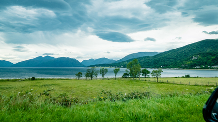 Scottish Loch Scene Great Britain United Kingdom. Very much one of the main tourist attractions and points of interest in the area.