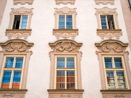 Prague Czechia Example of Residential Building Architecture
