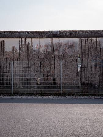 Iconic berlin wall landmark germany 에디토리얼
