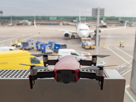 Image of Drone at Airport Stock fotó