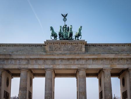 Berlin Brandenburg Gate Banco de Imagens - 120925887