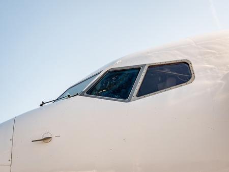 Aircraft Plane Cockpit Фото со стока