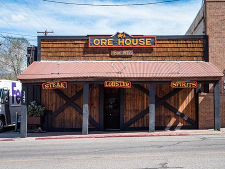 Everyday Street Scene of Durango Colorado USA. A popular tourist attraction