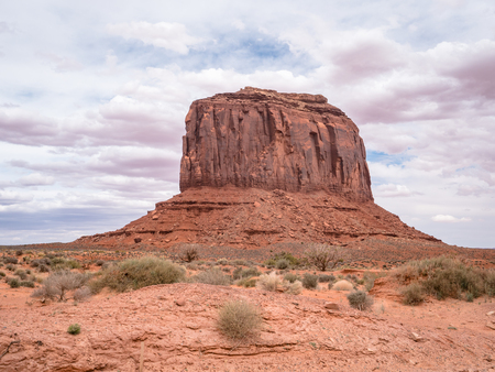 Collection of the less well known rock formations in and around monument valley Foto de archivo