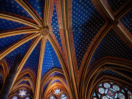 Sainte Chapelle Interior Decor  or
