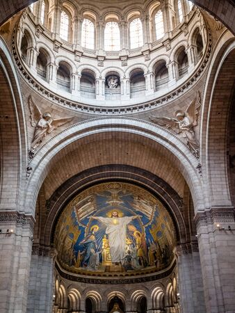 Basilica of the Sacred Heart of Paris or known as Sacré-Cœur Basilica is a Roman Catholic church and minor basilica, dedicated to the Sacred Heart of Jesus, in Paris, France