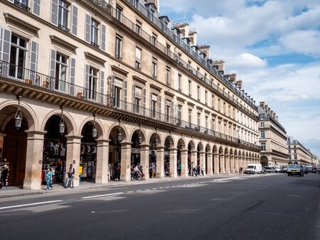 Traditional Examples of French Residential Buildings, Homes, Apartments and Living spaces in the heart of Paris France.