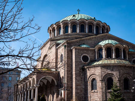 St. Alexander Nevsky Cathedral is a Bulgarian Orthodox cathedral in Sofia and is a famous landmark popular with tourists