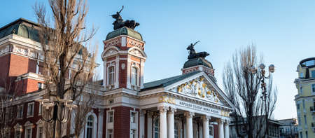 Ivan Vazov National Theatre is Bulgaria's national theatre, as well as the oldest and most authoritative theatre in the country and one of the important landmarks of Sofia Редакционное