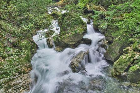 Shennongjia Tianshengqiao waterfall