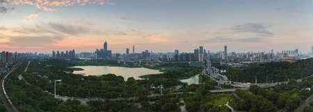 Wuhan summer scenery