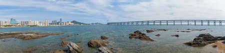 Summer Dalian Star Bay scenery Фото со стока
