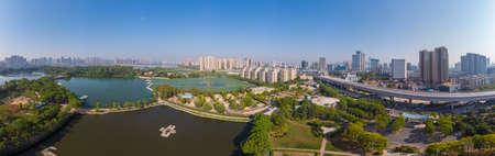 Wuhan  Summer Aerial Scenery