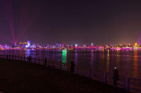 Hubei Wuhan Night Scenery
