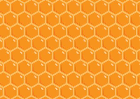 orange honeycomb texture