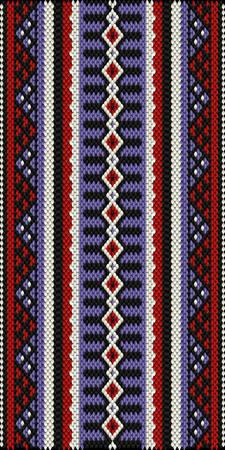 middle: Middle Eastern Style Sadu Weaving Illustrated Background Illustration