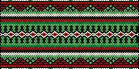 bedouin: Retro Bedouin Style Sadu Weaving Illustrated Background Illustration