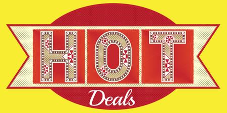 hot deals: HOT Deals Label