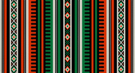 middle eastern: A Orange And Green Theme Arabian Sadu Weaving Middle Eastern Traditional Rug Texture