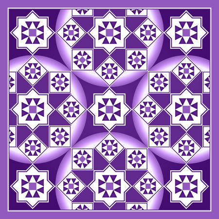 amethyst: Amethyst Purple Arabesque Mosaic Pattern Background
