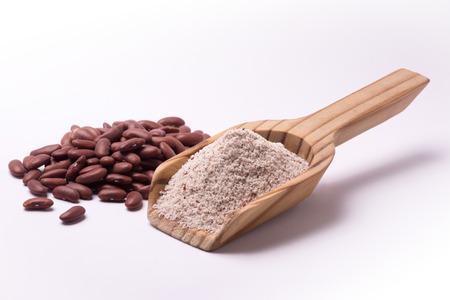 farina: Farina di fagioli rossi Kidney Stock Photo