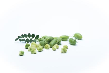 garbanzos: Garbanzos verdes del Jardín
