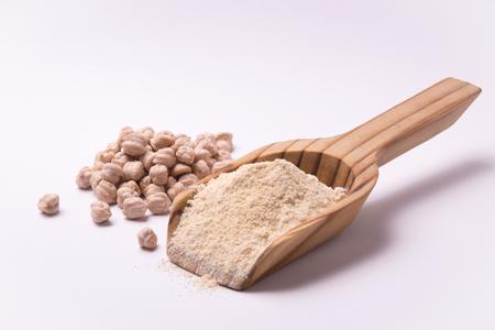 farina: farina di ceci Stock Photo