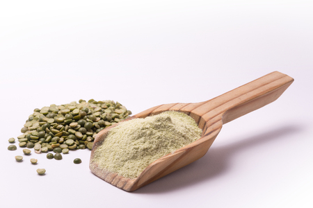 farina: Farina di piselli Stock Photo