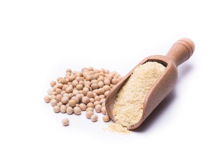 farina: farina di soia