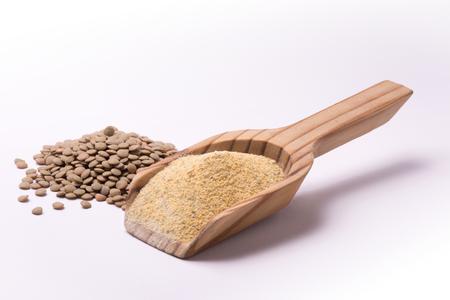 farina: Farina di lenticchie