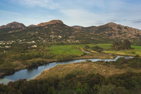 parole: Inland Corse landscape, country side of Corsica