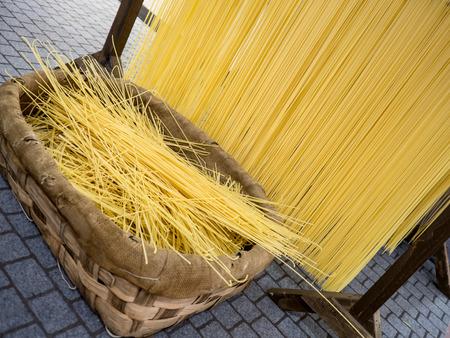 made by hand: Italian hand made pasta, home made speghetti