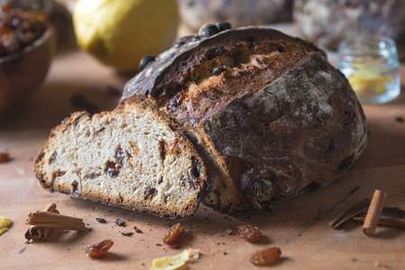 grapre must traditional italian sweet bread on rustis composition
