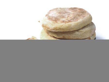 Bolo do caco bread tradiziona portuguese flat bread native to Madera Funchal island