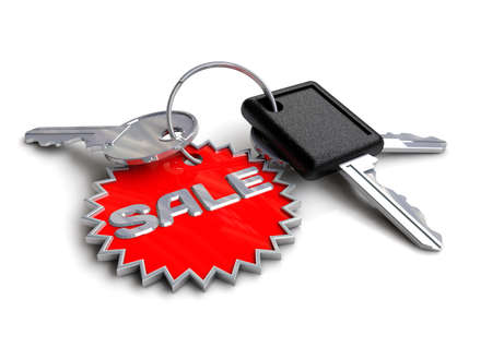 keyring: Car keys with sale keyring