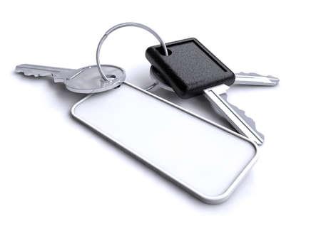 keyring: Keys on a keyring