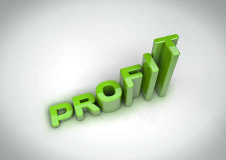 forfeiture: Profit text grows like a profit graph