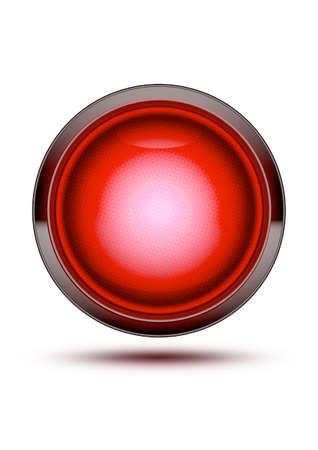 레드 트래픽 중지 빛 화이트 섀도와 격리. 멈추거나, 멈추거나, 위험하거나, 가지 말고, 조심하십시오.