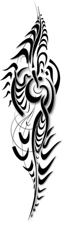 tattoo abstract exclusive work Vectores