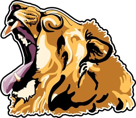 lione headcolour Vector