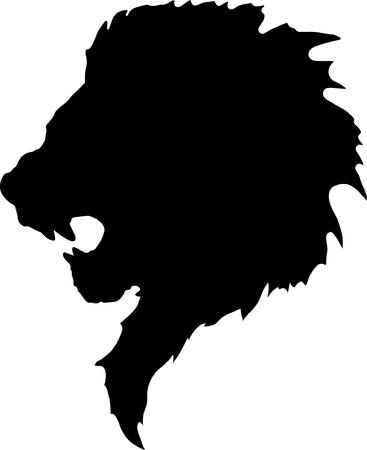 lion head tattoo