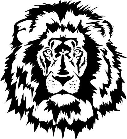 tatuaggio testa di leone