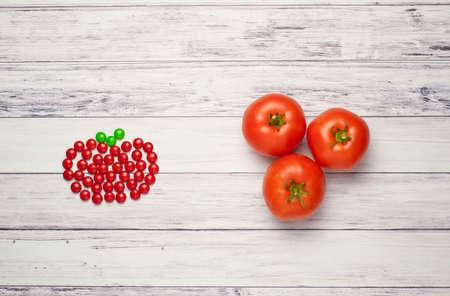 토마토 대 사탕