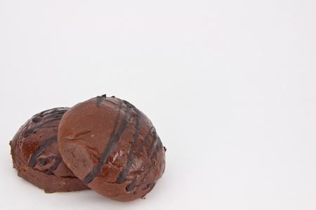 breadloaf: Chocco bun Stock Photo