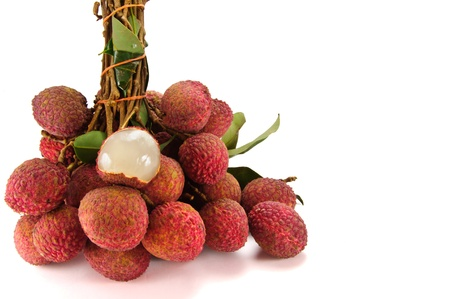 lychees: lychees