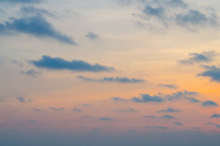 Orange sunset sky,Sunset Sky Background